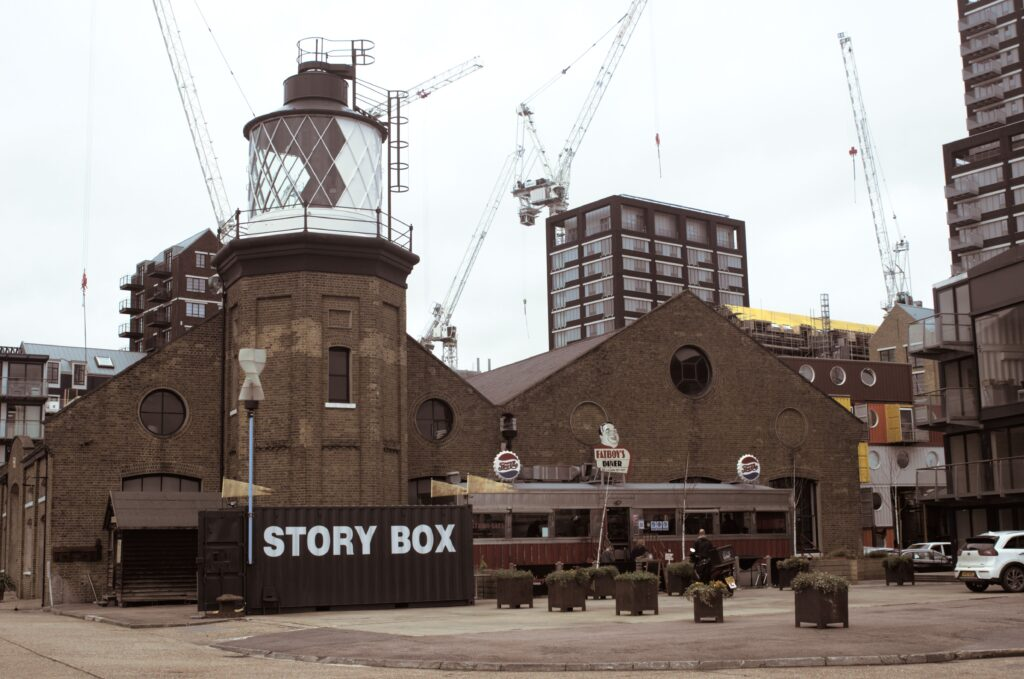 Trinity Buoy Wharf, London