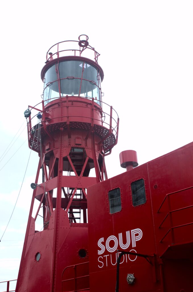 Lightship LV95 at Trinity Buoy Wharf, London